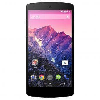 Gambar LG Nexus 5 Warna Hitam Tampak Depan