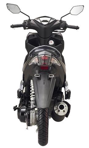 Gambar Yamaha New GT125 Tampak Belakang