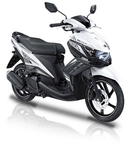 Gambar Yamaha New GT125 Warna Putih