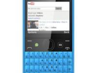 Nokia Asha 210 – Dual SIM Warna Biru