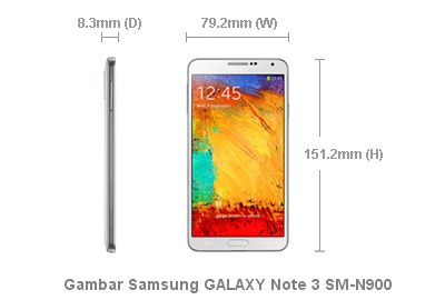 Phablet Samsung GALAXY Note 3 SM-N900