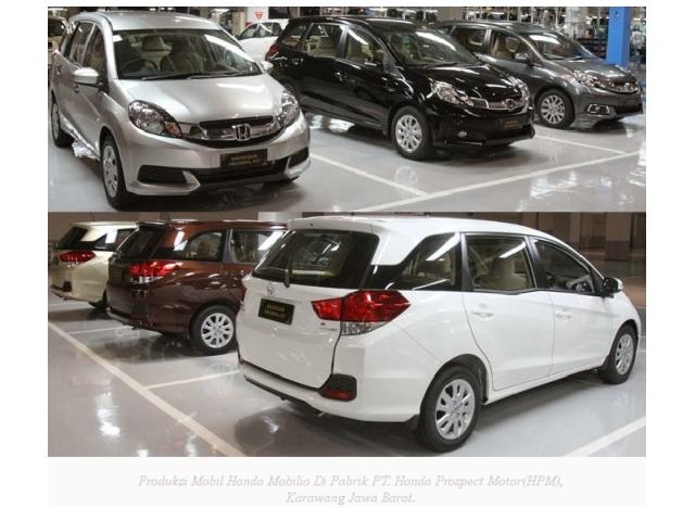 Produksi Honda Mobilio PT. Honda Prospect Motor Di Karawang Jawa Barat