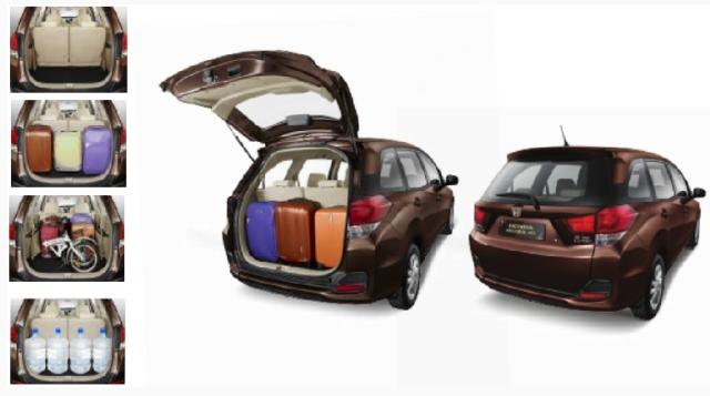 Ruang Bagasi Honda Mobilio 2014