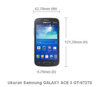 Smartphone Samsung GALAXY ACE 3 GT-S7270