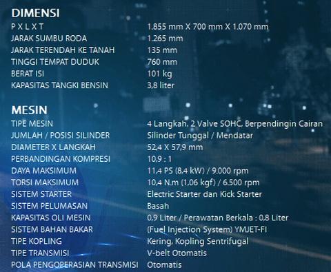 Spesifikasi dan Harga Yamaha GT 125