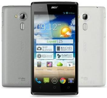 Spesifikasi dan harga Acer Liquid Z5 Dual Sim