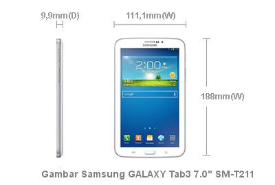 Gambar Tablet Samsung GALAXY Tab3 7.0 SM-T211