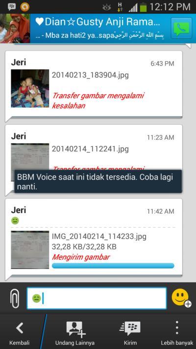 Fitur BBM Voice Pada BBM 2.0 Belum Tersedia