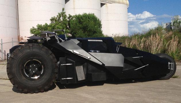 Gambar Mobil Batman BatMobil