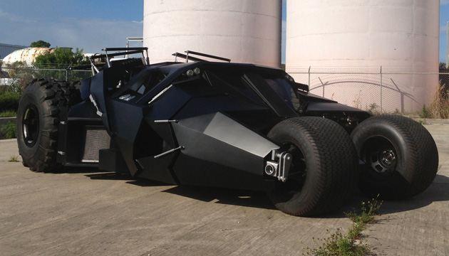 Gambar Mobil Keren Batman BatMobile