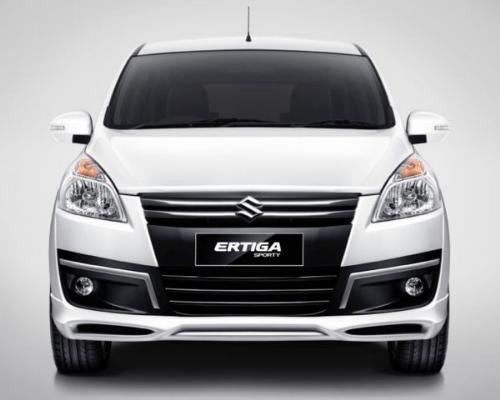 Gambar Mobil Suzuki Ertiga Sporty Tampak Depan