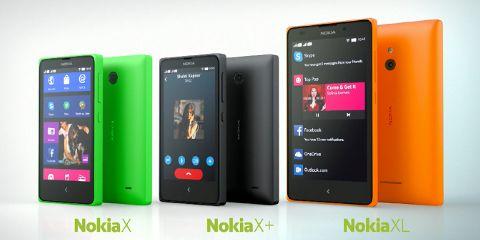 Gambar dan Tipe Nokia X (Nokia Android)