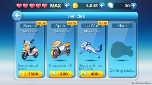 Kendaraan Di Game GunZ Dash
