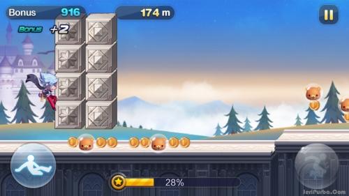 Rintangan Game GunZ Dash Wechat