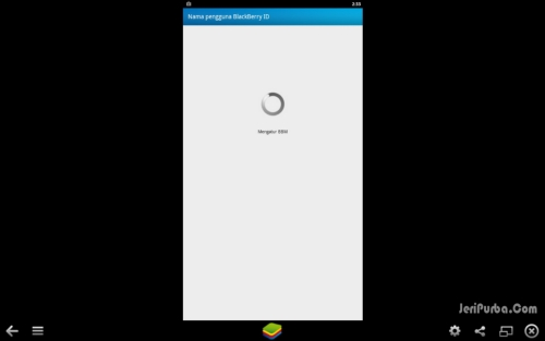 Setting BBM Android Gingerbread