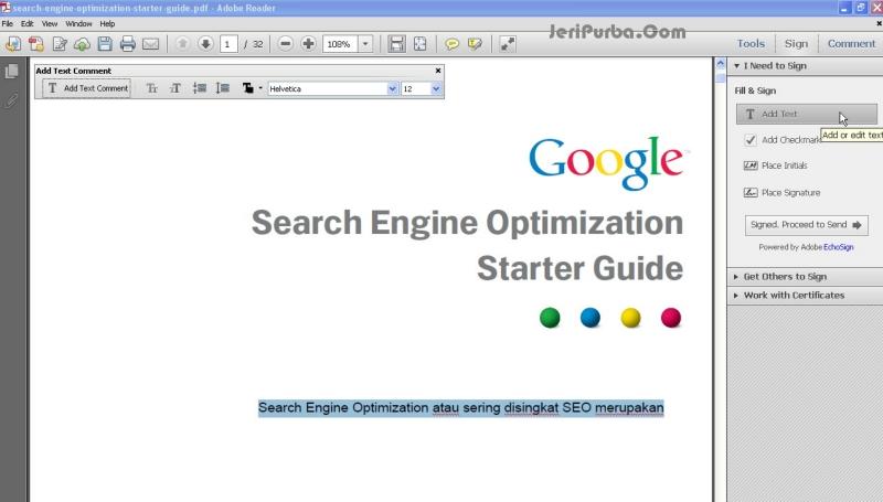 Adobe Reader - Software Untuk Membaca dan Mengedit File PDF