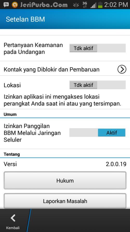 Download BBM Untuk Android Versi 2.0.0.19