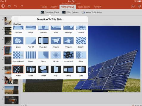 Download MS Office Power Point Untuk iPad