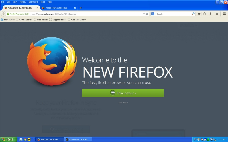 Download Mozilla Firefox 29