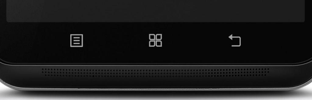 Fitur Lenovo S930 - Speaker Stereo Bagian Depan Bawah