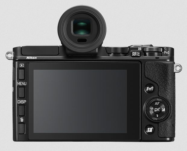Gambar Kamera Nikon 1 V3 Tampak Belakang