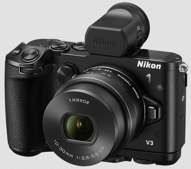Gambar Kamera Nikon 1 V3 Tampak Depan
