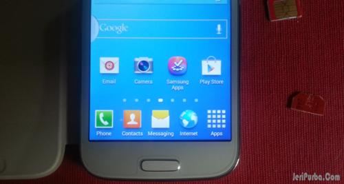 Jarak Tombol Menu Home Pada Samsung Galaxy S4 Super Copy (Palsu)
