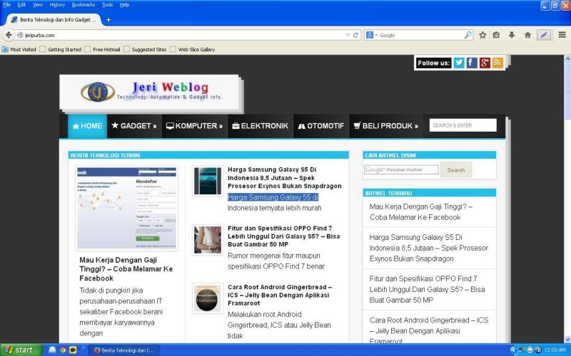 Performance Browsing Firefox 29 Lebih Cepat