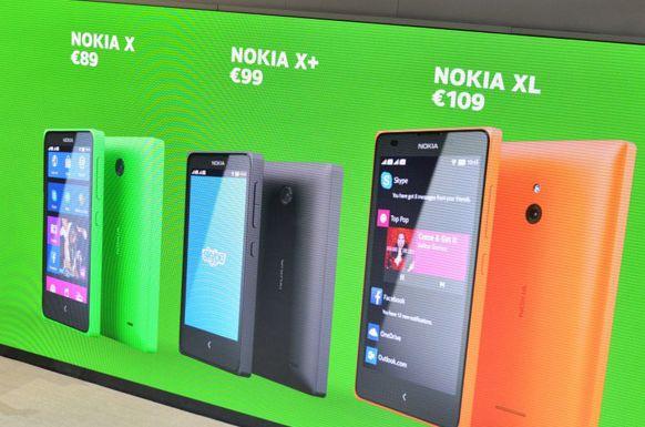 Pilihan Warna Nokia X Dual Sim