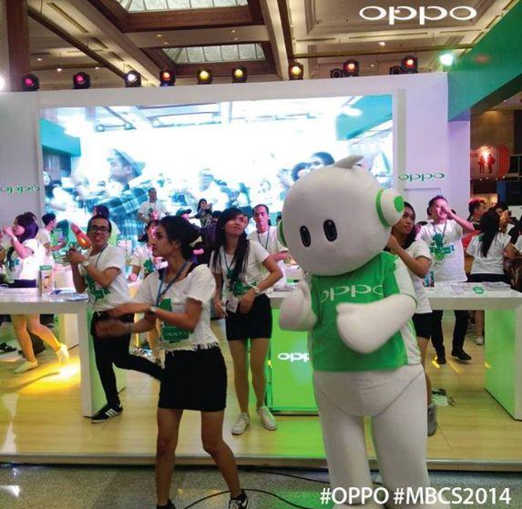 Promo OPPO Indonesia Dalam Ajang Pameran MBCS 2014