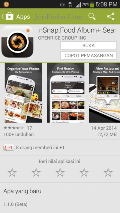 Aplikasi Edit Foto Makanan Kuliner