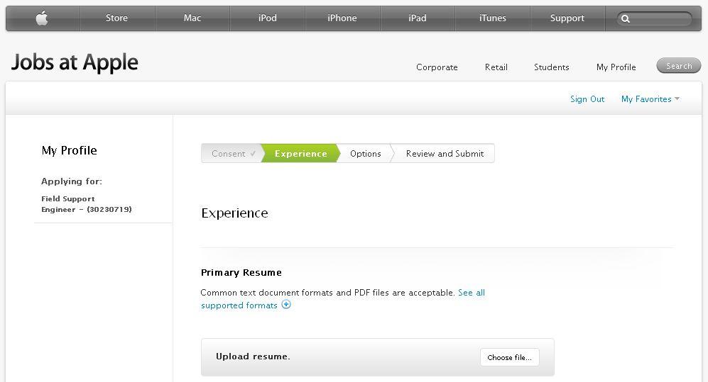 Apply Jobs at Apple