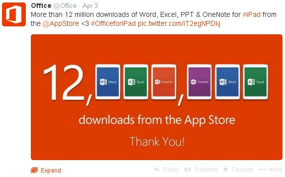 Download Microsoft Office Word Excel PowerPoint One Note Untuk iPad