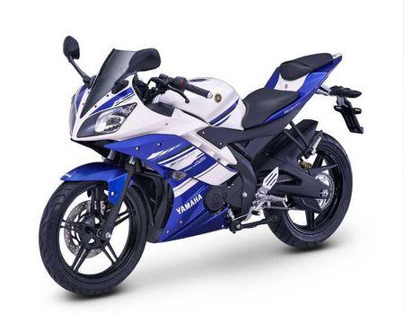 Gambar Motor Yamaha R15 Tampak Samping Kiri
