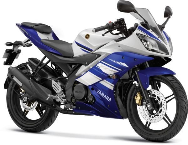 Gambar Yamaha R15 Warna Biru (Racing Blue)