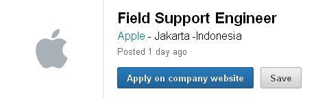 Lowongan Kerja Apple Posisi Engineer
