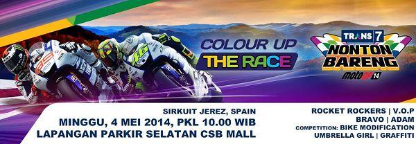 Nobar dan Jadwal Tayang MotoGP 2014 Jerez Spanyol