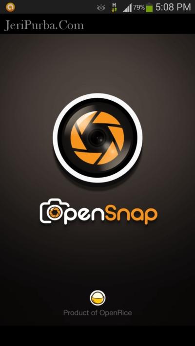 OpenSnap - Aplikasi Edit Foto Untuk Pecinta Masakan dan Kuliner