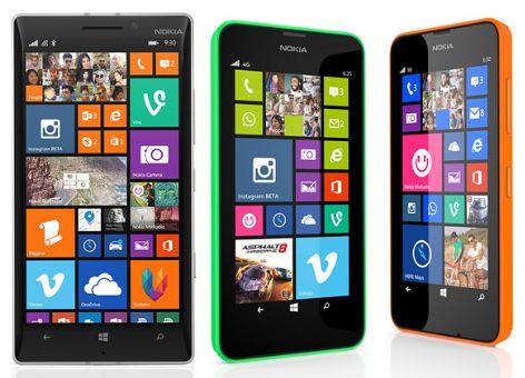 Perbandingan Nokia Lumia 630 Dual SIM, Single SIM dan Nokia Lumia 635