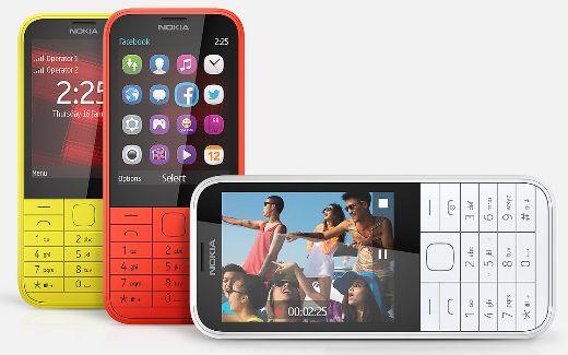 Pilihan Warna Nokia 225 Dual Sim