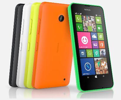 Pilihan Warna Nokia Lumia 630 Dual Sim
