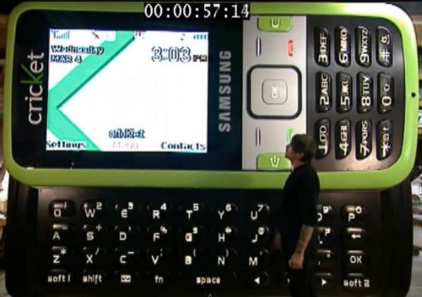 Ponsel Terbesar Di Dunia - Samsung SCH-r450