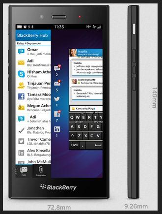 Spesifikasi BB Z3 dan Fitur BlackBerry Jakarta