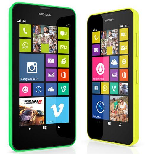 Spesifikasi Nokia Lumia 630 dual sim