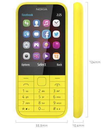 Spesifikasi dan Fitur Nokia 225 Dual Sim