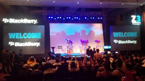 Acara Peluncuran BlackBerry Z3 - BB Jakarta