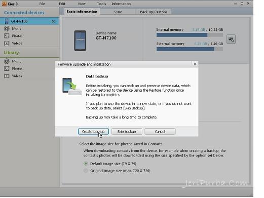 Cara Back Up Data Hp Samsung Menggunakan Samsung Kies