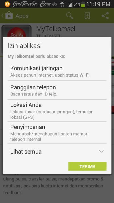 Cara Memasang Aplikasi MyTelkomsel Untuk Android