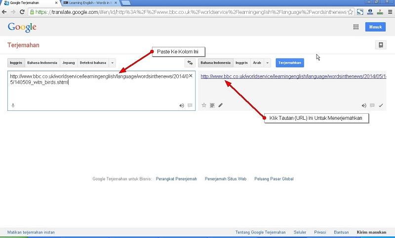 Cara Menerjemahkan Bahasa Inggris Ke Bahasa Indonesia Dengan Google