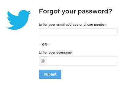 Cara Reset Password Twitter Dengan Nomor Hp